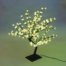 beautiful led cherry blossom tree table lamp home room office decor size 13 77 x 17 7 x 13 77 com