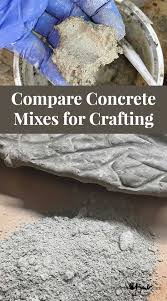 Compare Concrete Mixes For Crafting Made By Barb Which