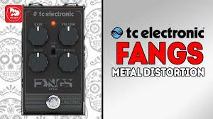 <b>TC ELECTRONIC</b> Fangs Metal Distortion гитарная <b>педаль</b> дисторшн
