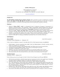 SAP FICO Resume with Years Experience