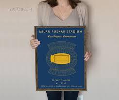 Milan Pusker Stadium Seating Chart West Virginia