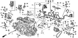 acura online store 2001 integra engine wire harness clamp (1 Ls Engine Wiring Harness 2001 integra ls 3 door 4at engine wire harness clamp (1) diagram ls engine wiring harness conversion
