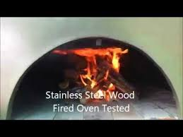 1000 ideas about propane pizza oven oven diy stainless steel wood fired pizza oven tested