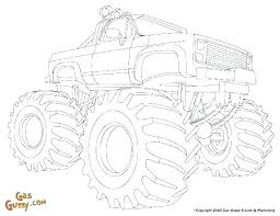 Monster Truck Pictures To Print Trustbanksurinamecom