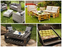 Patio From Pallets Garden Furniture Ideas From Repurposed Pallets O Pallet Ideas