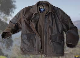 vintage cowhide indy style adventurer jacket