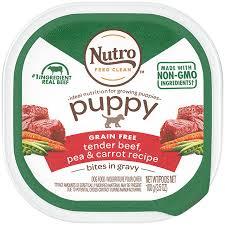 Puppy Dog Food Nutro