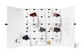 advent calander gift guide idea corgis luxe sock advent calendar footwear news