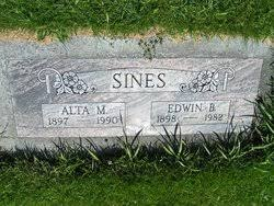 Alta Mable Wolf Sines (1897-1989) - Find A Grave Memorial