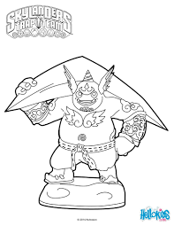 Gusto Coloring Page From Skylanders Trap