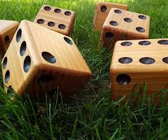 Wooden Yard Games Big Wooden Yard Dice Awesome Stuff 100 82