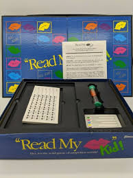 read my lips kid toys games board