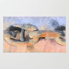 the ship chain rug