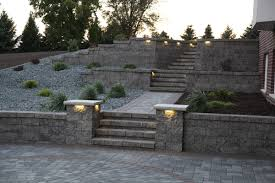 paver patio wall hardscaping walls faribault retaining wall blocks