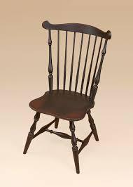 new england fan back windsor side chair image