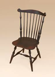 new england fan back windsor side chair image