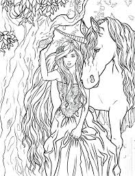 Coloring Pages Free Printable Unicorn Coloring Pages Kids Color N