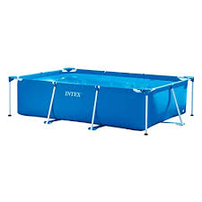 Rectangle above ground pool sizes Oval Pool Image Unavailable Atlantis Pools Amazoncom Intex 118by78by2912inch Rectangular Frame Pool