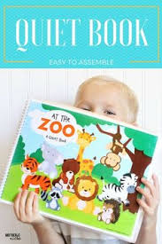 at the zoo an adorable easy to make quiet book