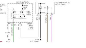 gmc sierra fuel related electrical problem gmc sierra terminal 30 at the fuel pump relay shows to be hot all the time