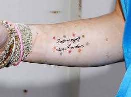 Small Quote Tattoos Magnificent 48 Marilyn Monroe Quote Tattoos