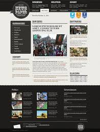 Newspaper Html Template Newspaper Html Template Id 300111155 From Bootstrap Template Com