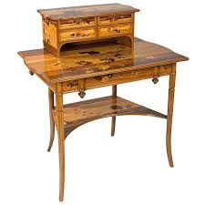 modern art nouveau furniture. emile gall french art nouveau desk modern furniture e