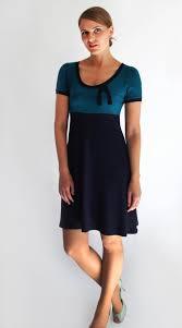 Blaues Kleid A Linie  miami 2021