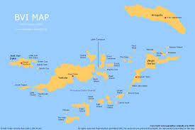 bvi map  free map of the bvi