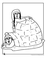 Small Picture Igloo Coloring Page Woo Jr Kids Activities