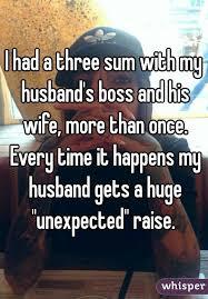 Wife helps husband boos raise