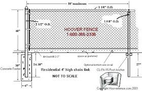 Chain link fence post sizes Vinyl Coated Fence Post Footing Elegant Chain Link Fence Post In Anchors Page Hoover Co Designs Fence Fence Post Bethealmightymeinfo Fence Post Footing Cementing Fence Posts Cementing Fence Posts