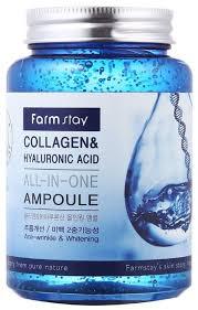 Farmstay All-In-One <b>Collagen</b> & Hyaluronic Acid Ampoule ...