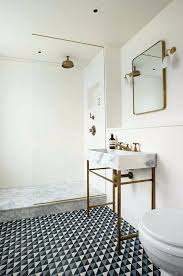 patterned floor tiles for small bathroom innovative picture of emerald black geometric pattern