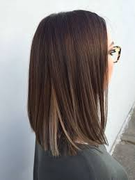 Brunette hair with blonde underneath