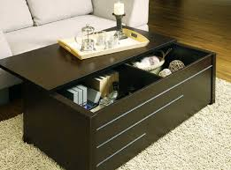 Image Of: Black Trunk Coffee Table