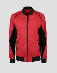 scuderia ferrari men s er jacket with perforated side panels ers track
