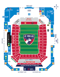 Seating Chart Fc Dallas