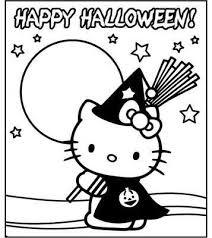 Disegni Di Halloween Da Stampare E Colorare Halloween Hello Kitty
