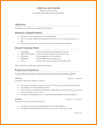 Examples Of Job Objectives On Resumes Personal Statement Builder Cv Example Extracurricular Activities 68