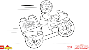 Small Picture LEGO DUPLO Spider Man coloring page Coloring page LEGO Duplo
