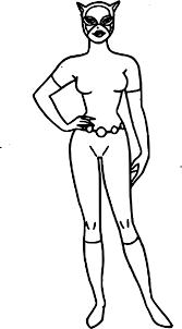 Coloriage Catwoman H Ro Ne Imprimer Sur Coloriages Info