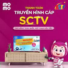 TIN HOT: MoMo triển khai thanh toán Truyền hình cáp - Internet SCTV trên  toàn quốc