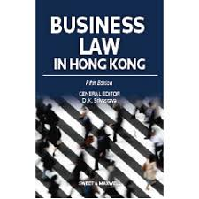 Business Law Business Law In Hong Kong 5th Edition