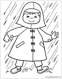 Small Picture Baby In The Rain Coloring Page Free Coloring Pages Online