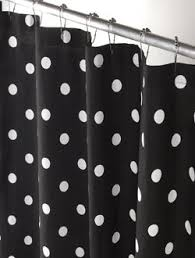 "Polka Dot - Shower Curtain 72"" X 66"" - Made in USA 100%"