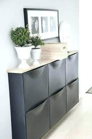 hallway console cabinet. Small Console Cabinet Narrow Hallway Stunning Shoe Storage With Rack .