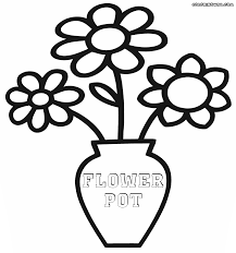 Small Picture Flower pot coloring pages Coloring pages to download and print