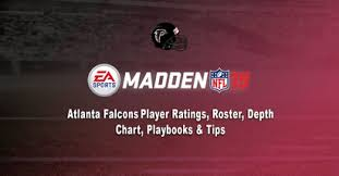 2016 Falcons Depth Chart Madden 19 Atlanta Falcons Player Ratings Roster Depth