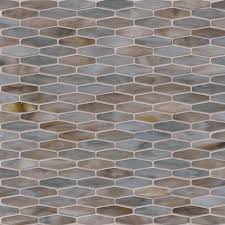 mochachino hexagon pattern 3mm variation mochachino stained glass hexagon mosaic